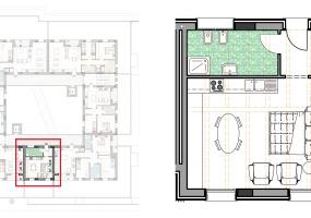 Via Isola Saloni 114, Chioggia, 1 Camera da Letto Stanze da Letto, 1 Stanza Stanze,1 BagnoBathrooms,Monolocale in attico,Edificio B, Via Isola Saloni 114,1074
