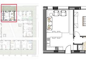 Via Isola Saloni 116, Chioggia, 1 Camera da Letto Stanze da Letto, 1 Stanza Stanze,1 BagnoBathrooms,Bilocale,Edificio C, Via Isola Saloni 116,1078