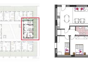 Via Isola Saloni 116, Chioggia, 1 Camera da Letto Stanze da Letto, 1 Stanza Stanze,1 BagnoBathrooms,Trilocale,Edificio C, Via Isola Saloni 116,1080