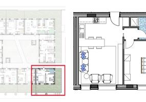 Via Isola Saloni 116, Chioggia, 1 Camera da Letto Stanze da Letto, 1 Stanza Stanze,1 BagnoBathrooms,Bilocale,Edificio C, Via Isola Saloni 116,1081