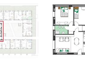 Via Isola Saloni 116, Chioggia, 1 Camera da Letto Stanze da Letto, 1 Stanza Stanze,1 BagnoBathrooms,Trilocale,Edificio C, Via Isola Saloni 116,1084