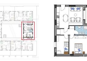 Via Isola Saloni 116, Chioggia, 1 Camera da Letto Stanze da Letto, 1 Stanza Stanze,1 BagnoBathrooms,Trilocale,Edificio C, Via Isola Saloni 116,1088