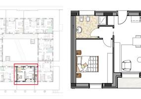Via Isola Saloni 116, Chioggia, 1 Camera da Letto Stanze da Letto, 1 Stanza Stanze,1 BagnoBathrooms,Bilocale,Edificio C, Via Isola Saloni 116,1090