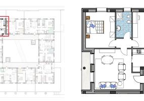 Via Isola Saloni 116, Chioggia, 1 Camera da Letto Stanze da Letto, 1 Stanza Stanze,1 BagnoBathrooms,Trilocale,Edificio C, Via Isola Saloni 116,1093