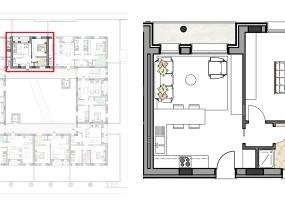 Via Isola Saloni 116, Chioggia, 1 Camera da Letto Stanze da Letto, 1 Stanza Stanze,1 BagnoBathrooms,Bilocale,Edificio C, Via Isola Saloni 116,1094
