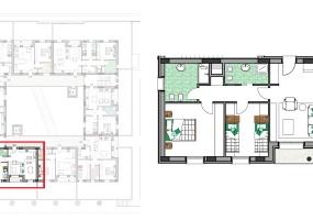 Via Isola Saloni 116, Chioggia, 1 Camera da Letto Stanze da Letto, 1 Stanza Stanze,1 BagnoBathrooms,Trilocale,Edificio C, Via Isola Saloni 116,1107