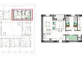 Via Isola Saloni 116, Chioggia, 1 Camera da Letto Stanze da Letto, 1 Stanza Stanze,1 BagnoBathrooms,Trilocale in attico,Edificio C, Via Isola Saloni 116,1111