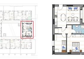 Via Isola Saloni 116, Chioggia, 1 Camera da Letto Stanze da Letto, 1 Stanza Stanze,1 BagnoBathrooms,Trilocale in attico,Edificio C, Via Isola Saloni 116,1112