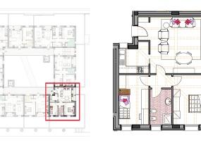 Via Isola Saloni 116, Chioggia, 1 Camera da Letto Stanze da Letto, 1 Stanza Stanze,1 BagnoBathrooms,Trilocale in attico,Edificio C, Via Isola Saloni 116,1113