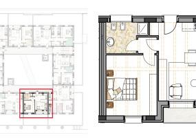 Via Isola Saloni 116, Chioggia, 1 Camera da Letto Stanze da Letto, 1 Stanza Stanze,1 BagnoBathrooms,Bilocale in attico,Edificio C, Via Isola Saloni 116,1114