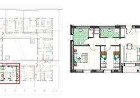 Via Isola Saloni 116, Chioggia, 1 Camera da Letto Stanze da Letto, 1 Stanza Stanze,1 BagnoBathrooms,Trilocale in attico,Edificio C, Via Isola Saloni 116,1115