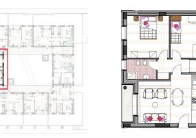 Via Isola Saloni 116, Chioggia, 1 Camera da Letto Stanze da Letto, 1 Stanza Stanze,1 BagnoBathrooms,Trilocale in attico,Edificio C, Via Isola Saloni 116,1116