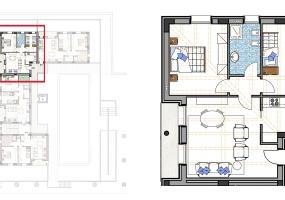 Via Isola Saloni 118, Chioggia, 1 Camera da Letto Stanze da Letto, 1 Stanza Stanze,1 BagnoBathrooms,Trilocale in attico,Edificio D, Via Isola Saloni 118,1134