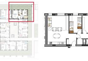 Via Isola Saloni 112, Chioggia, 1 Camera da Letto Stanze da Letto, 1 Stanza Stanze,1 BagnoBathrooms,Trilocale,Edificio A, Via Isola Saloni 112,1013