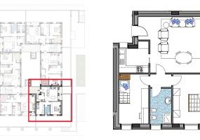 Via Isola Saloni 112, Chioggia, 1 Camera da Letto Stanze da Letto, 1 Stanza Stanze,1 BagnoBathrooms,Trilocale,Edificio A, Via Isola Saloni 112,1021
