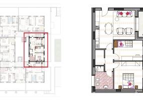 Via Isola Saloni 112, Chioggia, 1 Camera da Letto Stanze da Letto, 1 Stanza Stanze,1 BagnoBathrooms,Trilocale in attico,Edificio A, Via Isola Saloni 112,1038