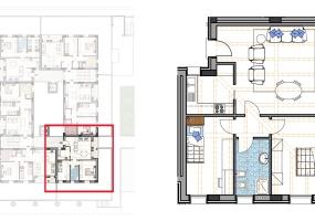 Via Isola Saloni 112, Chioggia, 1 Camera da Letto Stanze da Letto, 1 Stanza Stanze,1 BagnoBathrooms,Trilocale in attico,Edificio A, Via Isola Saloni 112,1039
