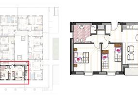 Via Isola Saloni 112, Chioggia, 1 Camera da Letto Stanze da Letto, 1 Stanza Stanze,1 BagnoBathrooms,Trilocale in attico,Edificio A, Via Isola Saloni 112,1040