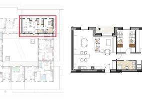 Via Isola Saloni 114, Chioggia, 1 Camera da Letto Stanze da Letto, 1 Stanza Stanze,1 BagnoBathrooms,Trilocale,Edificio B, Via Isola Saloni 114,1050
